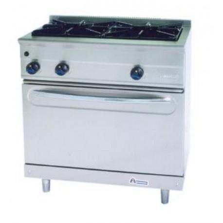 Cocina modular gas